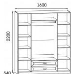 Шкаф 4-х створчатый ВМ06 +19 000.00 Р.