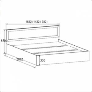 Кровать ВМ14