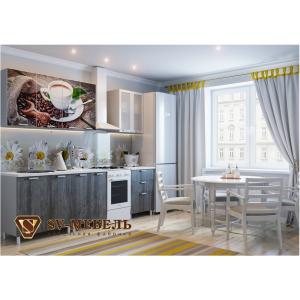 """Кухонный гарнитур с фотопечатью """"Кофе"""""""